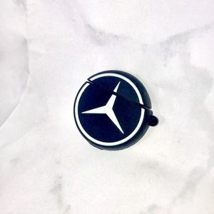 NEW Mercedes Benz AirPods case cover logo